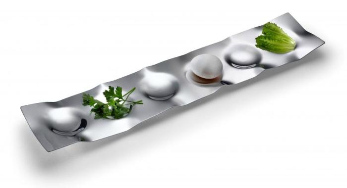 Moon Path Seder Plate - Modern Seder Plates from Laura Cowan