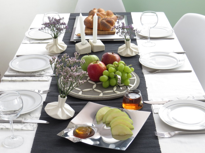 Rosh Hashanah Table Setting