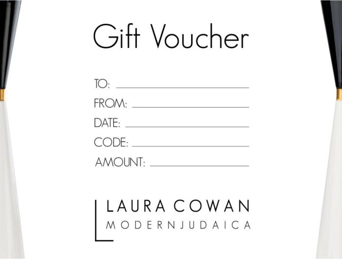 Laura Cowan Modern Judaica Gift Voucher